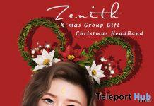 Christmas Headband December 2019 Group Gift by Zenith - Teleport Hub - teleporthub.com