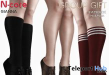 Gianna Heels & Socks December 2019 Group Gift by N-CORE - Teleport Hub - teleporthub.com