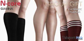 Gianna Heels & Socks December 2019 Group Gift by N-CORE - Teleport Hub - teleporthub.com