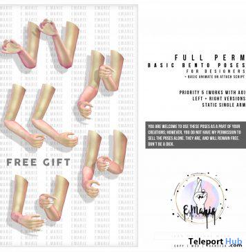Basic Bento Poses For Designers November 2019 Gift by e.marie - Teleport Hub - teleporthub.com