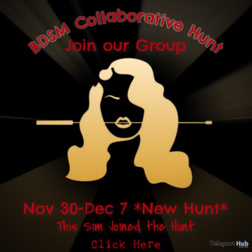 The Giant BDSM Collaborative Hunt December 2019 - Teleport Hub - teleporthub.com