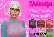 Ellen Sweater November 2019 Group Gift by Quinnty's - Teleport Hub - teleporthub.com