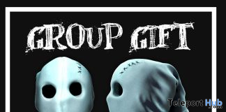 Ghost Mask Halloween 2019 Group Gift by DARK&WHITE - Teleport Hub - teleporthub.com