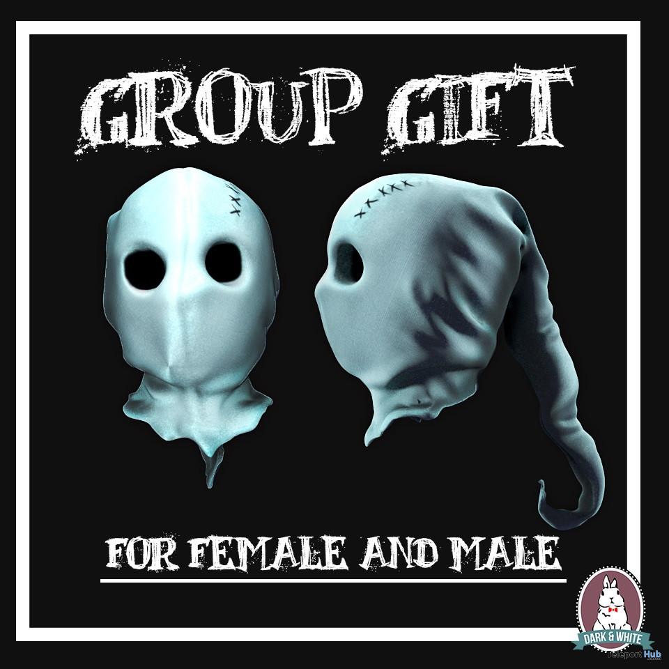Ghost Mask Halloween 2019 Group Gift by DARK&WHITE - Teleport Hub - teleporthub.com