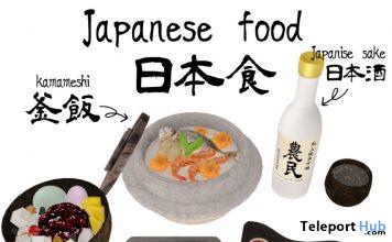 Japanese Food Set After Paripi Fair 2019 Gift by Grim Smooch - Teleport Hub - teleporthub.com