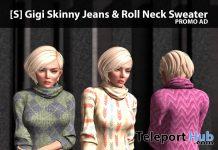 New Release: [S] Gigi Skinny Jeans & Roll Neck Sweater by [satus Inc] - Teleport Hub - teleporthub.com