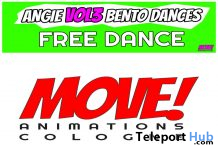 Angie 49 Bento Dance November 2019 Gift by MOVE! Animations Cologne - Teleport Hub - teleporthub.com