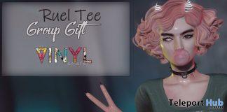 Ruel Tee December 2019 Group Gift by VINYL - Teleport Hub - teleporthub.com