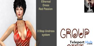 Ethereal Undress Red Passion November 2019 Group Gift by Hidden Truth - Teleport Hub - teleporthub.com