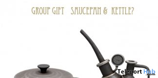 Saucepan & Kettle November 2019 Group Gift by D-LAB - Teleport Hub - teleporthub.com