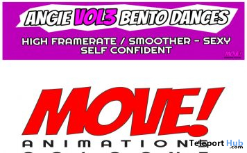 New Release: Angie Vol 3 High Framerate Bento Dance Pack by MOVE! Animations Cologne - Teleport Hub - teleporthub.com