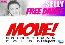 Selly 12 Bento Dance November 2019 Gift by MOVE! Animations Cologne - Teleport Hub - teleporthub.com