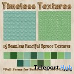 15 Seamless Fanciful Spruce December 2019 Group Gift by Timeless Textures - Teleport Hub - teleporthub.com