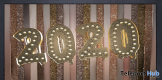 2020 New Year Marque Deco Sign December 2019 Gift by Star Sugar - Teleport Hub - teleporthub.com