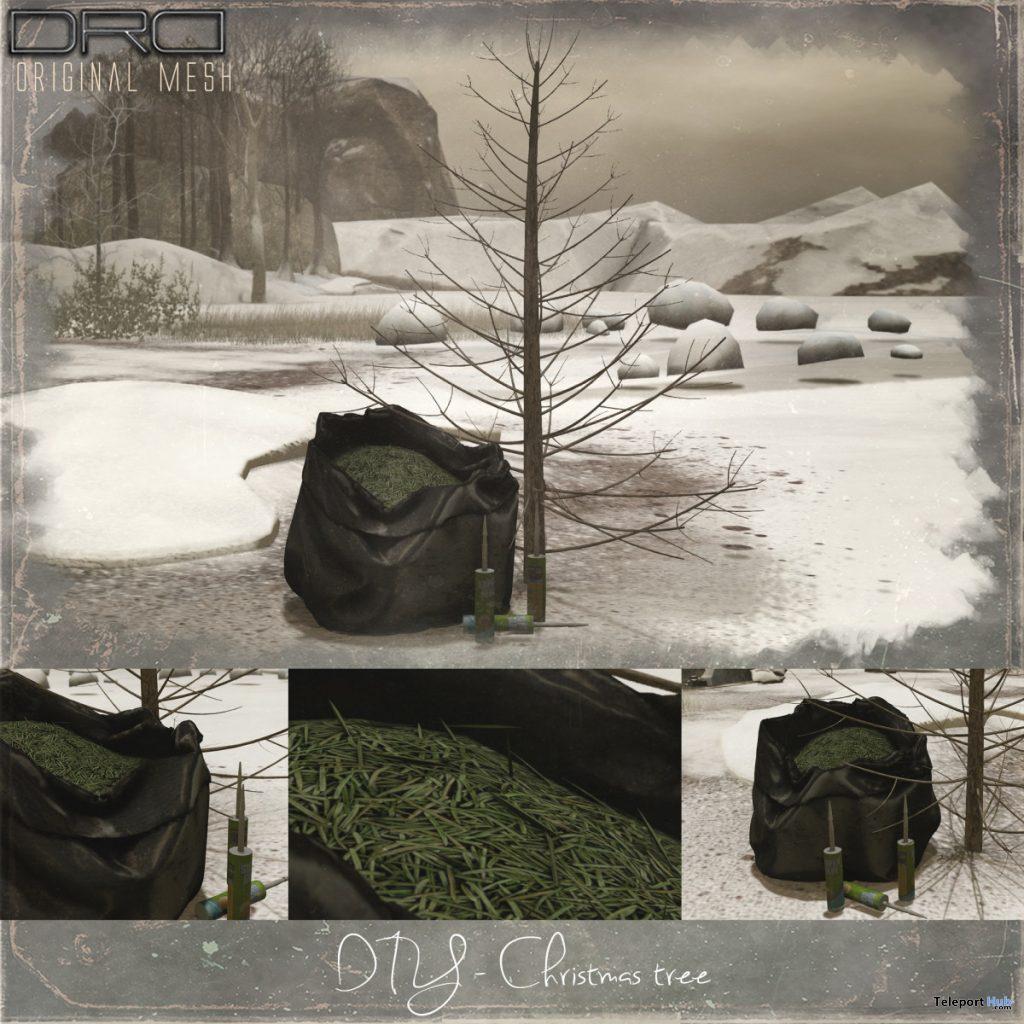 DIY Christmas Tree December 2019 Group Gift by DRD - Teleport Hub - teleporthub.com