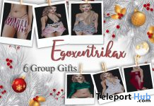 Dresses & Outfits December 2019 Group Gift by Egoxentrikax - Teleport Hub - teleporthub.com