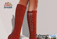Lisa Boots Holiday Edition December 2019 Group Gift by [SHEBA] - Teleport Hub - teleporthub.com