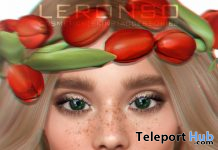 Verona Skin Cream Tone For Lelutka Head December 2019 Group Gift by LERONSO skins - Teleport Hub - teleporthub.com