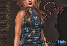 Sleeveless Mini Dress December 2019 Group Gift by Sass - Teleport Hub - teleporthub.com
