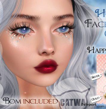 Holiday Face Glitter December 2019 Gift by Shiny Stuffs - Teleport Hub - teleporthub.com