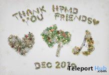 Winter Letter Wreath December 2019 Group Gift by HPMD - Teleport Hub - teleporthub.com
