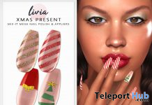 Mix-It Polish & Nail Appliers Christmas 2019 Group Gift by LIVIA - Teleport Hub - teleporthub.com