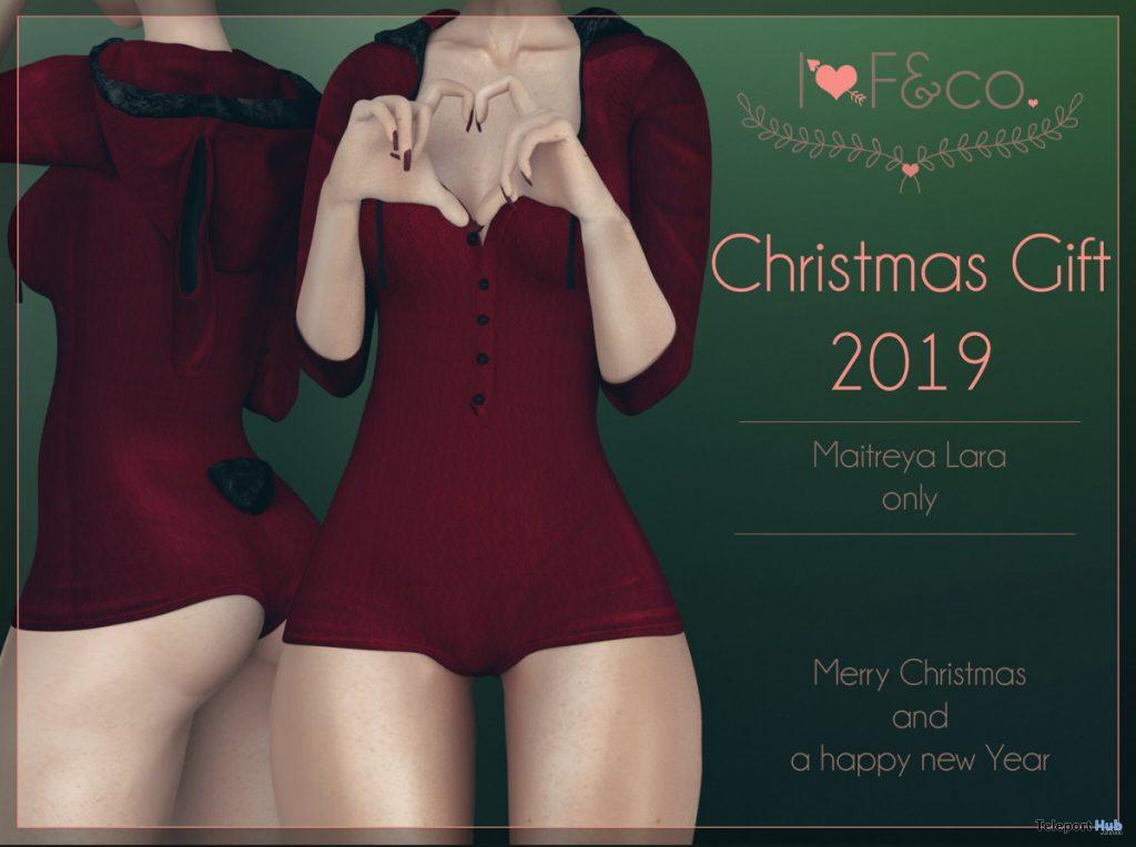 HoneyBun Bodysuit Christmas 2019 Gift by I<3F & Co - Teleport Hub - teleporthub.com