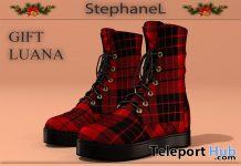 Luana Boots December 2019 Group Gift by StephaneL - Teleport Hub - teleporthub.com