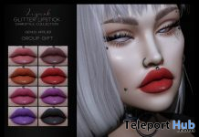 Glitter Lipstick For Genus Mesh Head December 2019 Group Gift by LePunk - Teleport Hub - teleporthub.com