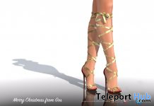 Phoebe Slingbacks Silk Collection Heels December 2019 Group Gift by Gos Boutique - Teleport Hub - teleporthub.com
