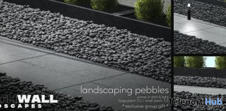 Landscaping Pebbles December 2019 Group Gift by Fourth Wall - Teleport Hub - teleporthub.com