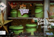 Antique Grocery Stock Cans December 2019 Gift by Florix - Teleport Hub - teleporthub.com