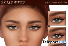 Bliss Eyes Christmas Edition December 2019 Group Gift by Avi-Glam - Teleport Hub - teleporthub.com