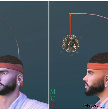 Mistletoe Headband December 2019 Gift by Cubura - Teleport Hub - teleporthub.com