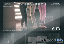 Alyssa Sweatpants & Astrolunar Sneakers December 2019 Group Gift by GUTCHI - Teleport Hub - teleporthub.com