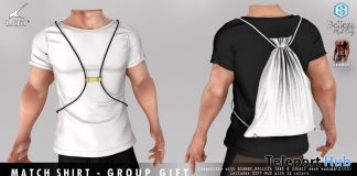 Match Shirt December 2019 Group Gift by LOB - Teleport Hub - teleporthub.com