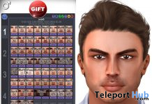 Male Skin HUD For Catwa Mesh Head January 2020 Group Gift by CATWA - Teleport Hub - teleporthub.com