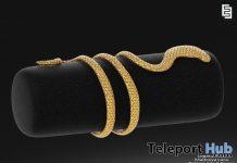Snake Arm Cuff January 2020 Group Gift by Elven Elder - Teleport Hub - teleporthub.com