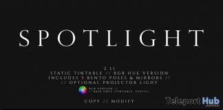Spotlight Photo Booth January 2020 Group Gift by FOXCITY - Teleport Hub - teleporthub.com