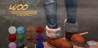 Warm Boots December 2019 Group Gift by Lv.100 - Teleport Hub - teleporthub.com