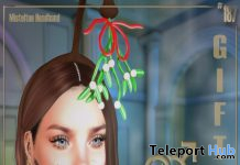 Misteltoe Headband @t0me Club Christmas 2019 Gift by Boutique #187# - Teleport Hub - teleporthub.com