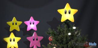 Star Power Tree Topper December 2019 Group Gift by Sweet Thing - Teleport Hub - teleporthub.com