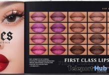 First Class Lipsticks For GENUS Mesh Head December 2019 Group Gift by IVES - Teleport Hub - teleporthub.com
