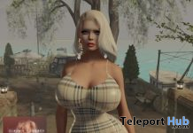 Eliza Bleuberry Dress For Legacy December 2019 Gift by Kira Couture - Teleport Hub - teleporthub.com