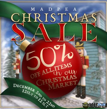 MadPea Christmas Sale 2019 - Teleport Hub - teleporthub.com