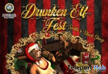 Drunken Elf Fest 2019 Santa's Black Sheep - Teleport Hub - teleporthub.com