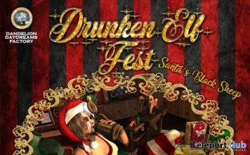 Drunken Elf Fest 2019 Santa's Black Sheep - Teleport Hub - teleporthub.com