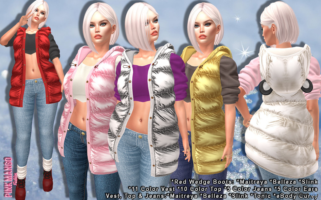 Neva Full Outfit Fatpack 149L Promo by Pink Mango - Teleport Hub - teleporthub.com