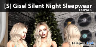 [S] Gisel Silent Night Sleepwear Fatpack Group Gift by [satus Inc] - Teleport Hub - teleporthub.com