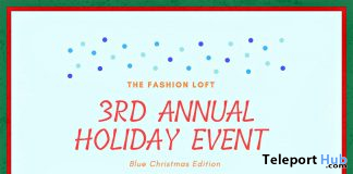 The Fashion Loft 2019 Holiday Event & Hunt - Teleport Hub - teleporthub.com
